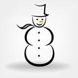 Bonhomme de neige Photo stock