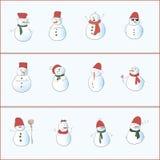 Bonhomme de neige 12 Images libres de droits