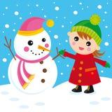 Bonhomme de neige Photo libre de droits