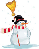 bonhomme de neige Images libres de droits