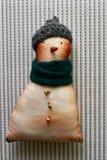 Bonhomme de neige avec vos mains Photo stock