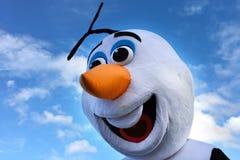 Bonhomme de neige d'Olaf Photographie stock libre de droits