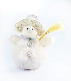 Bonhomme de neige de jouet Photo stock