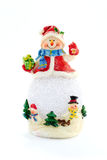Bonhomme de neige de jouet Photos stock