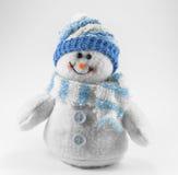 Bonhomme de neige de jouet Images stock