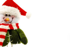 Bonhomme de neige de Noël Image stock