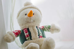 Bonhomme de neige mou Image stock