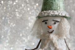 Bonhomme de neige Noël An neuf photo stock