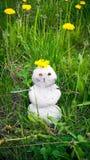 Bonhomme de neige pendant l'été Photographie stock