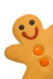 Bonhomme en pain d'épice Photos libres de droits