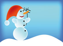 Bonhommes de neige Photos libres de droits