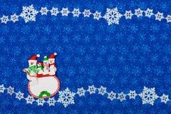 Bonhommes de neige Photographie stock