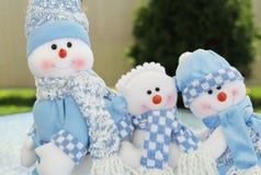 Bonhommes de neige d'été Photographie stock