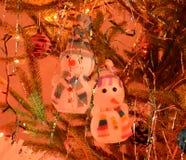 Bonhommes de neige jouet, décoration de Noël ! images stock