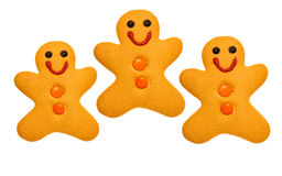 Bonhommes en pain d'épice Image stock