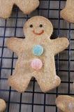 Bonhommes en pain d'épice Image libre de droits