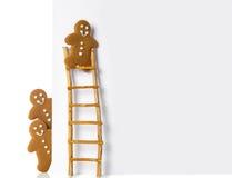 Bonhommes en pain d'épice Images stock