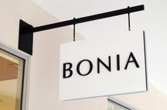Bonia store at Genting Highlands Premium Outlets, Malaysia. GENTING HIGHLANDS, MALAYSIA- DEC 03, 2018 : Bonia store at Genting Highlands Premium Outlets royalty free stock photography