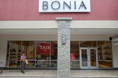 Bonia store at Genting Highlands Premium Outlets, Malaysia. GENTING HIGHLANDS, MALAYSIA- DEC 03, 2018 : Bonia store at Genting Highlands Premium Outlets royalty free stock photo