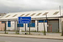 Bonians Kiełbasiana fabryka, Dagenham Obrazy Royalty Free