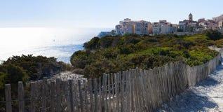 Bonifacio,可西嘉岛, Corse,南科西嘉,南,法国,欧洲,海岛 库存图片