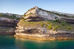 Bonifacio, Κορσική, Corse-du-sud, Γαλλία Στοκ φωτογραφία με δικαίωμα ελεύθερης χρήσης
