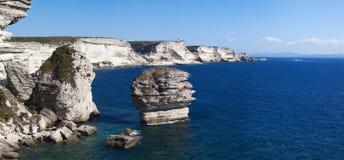 Bonifacio, Κορσική, Κορσική, Corse-du-sud, νότος, Γαλλία, Ευρώπη, νησί Στοκ Φωτογραφία