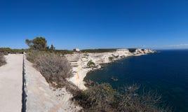 Bonifacio, Κορσική, Κορσική, Corse-du-sud, νότος, Γαλλία, Ευρώπη, νησί Στοκ Φωτογραφίες