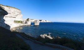 Bonifacio, Κορσική, Κορσική, Corse-du-sud, νότος, Γαλλία, Ευρώπη, νησί Στοκ εικόνες με δικαίωμα ελεύθερης χρήσης
