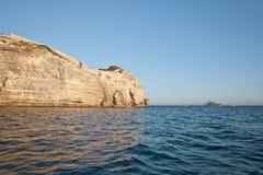 Bonifacio, Корсика, Франция Стоковые Изображения RF