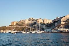 Bonifacio, Корсика, Франция Стоковое Изображение RF