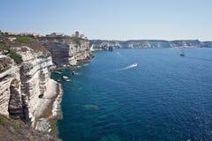 Bonifacio, Корсика, Франция Стоковое Изображение