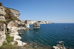 Bonifacio, Корсика, Франция Стоковая Фотография RF