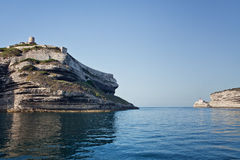 Bonifacio, Корсика, Франция Стоковая Фотография