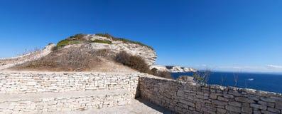 Bonifacio, Корсика, Corse, Corse-du-юг, южный, Франция, Европа, остров Стоковая Фотография RF