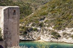 Bonifacio, Корсика, Corse, Corse-du-юг, южный, Франция, Европа, остров Стоковая Фотография