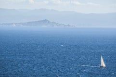 Bonifacio, Корсика, Corse, Corse-du-юг, южный, Франция, Европа, остров Стоковые Изображения