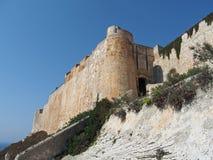 Bonifacio befästning, Corsica Royaltyfri Bild