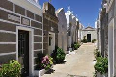 Bonifacio Cemetery, Corse, Francia immagini stock libere da diritti