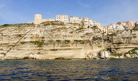 Bonifacio Citadel Royalty Free Stock Photography