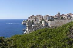 Bonifacio city, Corsica , France. Stock Image
