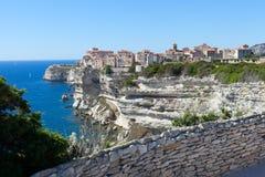 Bonifacio city, Corsica , France. Royalty Free Stock Photography