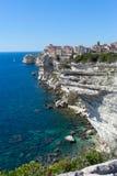 Bonifacio city, Corsica , France. Royalty Free Stock Images