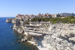 Bonifacio city, Corsica , France. Royalty Free Stock Image