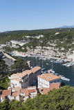 Bonifacio city, Corsica , France. Stock Photo