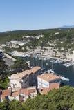 Bonifacio city, Corsica , France. Stock Photo