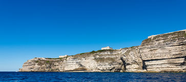 Bonifacio city, Corsica Royalty Free Stock Images