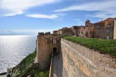 Bonifacio City, France Royalty Free Stock Photo