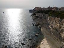 Bonifacio cliff Stock Images