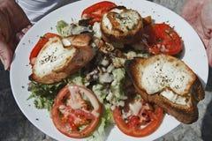 bonifacio corse Corsica jedzenie France Obraz Stock